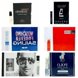 Best Selling Designer Fragrance Sampler for Men ~ Lot of 6 C