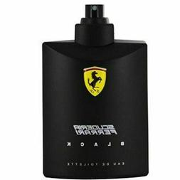 FERRARI BLACK COLOGNE MEN 4.2 OZ 125 ML EDT SPRAY TESTER BOX