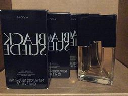 Avon Black Suede Cologne Spray 3.4 fl. oz. Lot 4 bottles