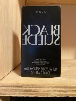 Avon Black Suede Eau De Toilette, New in Box,Smooth Cologne