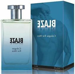 Blaze Eau de Parfum Cologne for Men With Luxurious Suede Nov