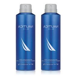 Nautica Blue Cologne Deodorant Spray for Men 6.0oz