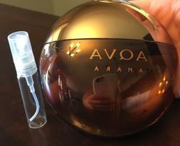 Bvlgari  Aqva  Amara Men's Cologne 5ml Glass Spray Sample