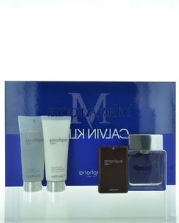 Calvin Klein Euphoria Cologne Gift Set For Men 4 Piece Gift