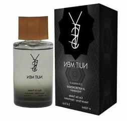 Yes Nuit Men By: Chris Designer 3.4 oz EDT, Men's -Free Gift
