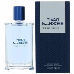 CLASSIC BLUE By David Beckham 3.0 oz 90 ml Men Cologne EDT S