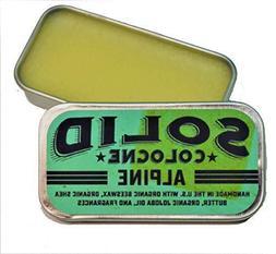 """SOLID Cologne - """"Alpine"""" Scent - Men's """"Pocket-Size"""" Fragran"""