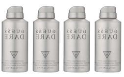 New Guess Dare Cologne Deodorant Body Spray for Men 4.0 oz