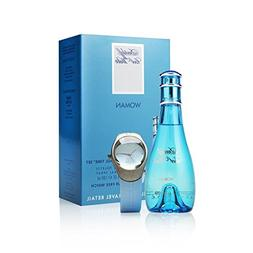 Cool Water by Davidoff for Women Cool Time 2 Piece Set Inclu