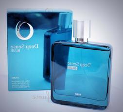 DEEP SENSE BLUE MEN COLOGNE  3.3OZ/100ML EDP AUTHENTIC  PERF