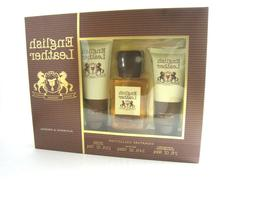 English Leather Cologne For Men By Dana - 3.4oz/100ml - 3Pc