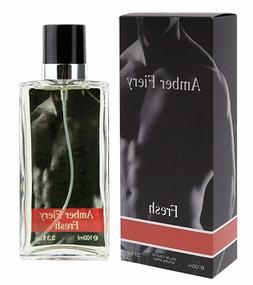 FIERY Men Cologne Eau De Toilette Perfume Natural Spray Parf