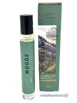 Good Chemistry RUSTIC Woods Rollerball Cologne Travel Size R