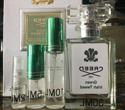 Creed Green Irish Tweed Men Cologne EDP 2ml 5ml 10ml 30ml 50