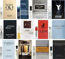 High End Designer Fragrance Sampler for Men - Lot x 12 Colog