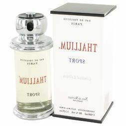 Thallium Sport Cologne by Parfums Jacqués Evárd 3.4 oz Eau