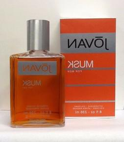 Jovan Musk By Coty Men 8.0 8 OZ 236 ML After Shave / Cologne