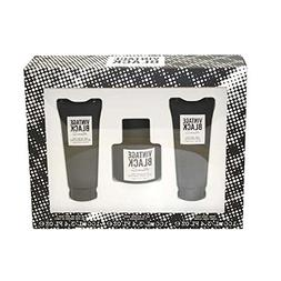Kenneth Cole Vintage Black 3 Piece Gift Set for Men