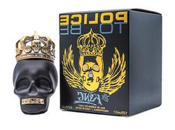 Police To Be The King Eau de Toilette Spray for Men, 4.2 Oun