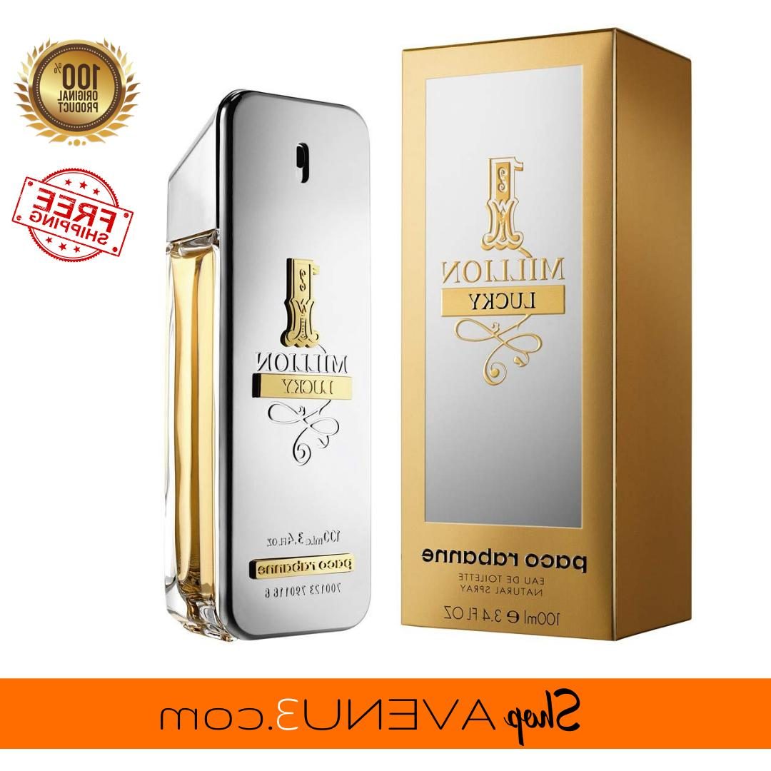 1 million lucky 3 4oz 100ml edt