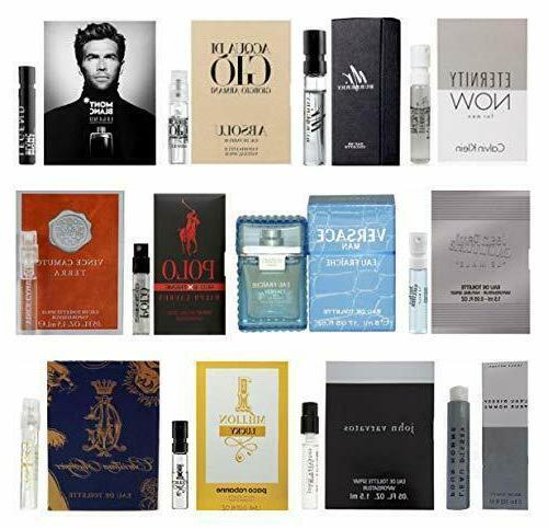 12 men s designer cologne sample vial