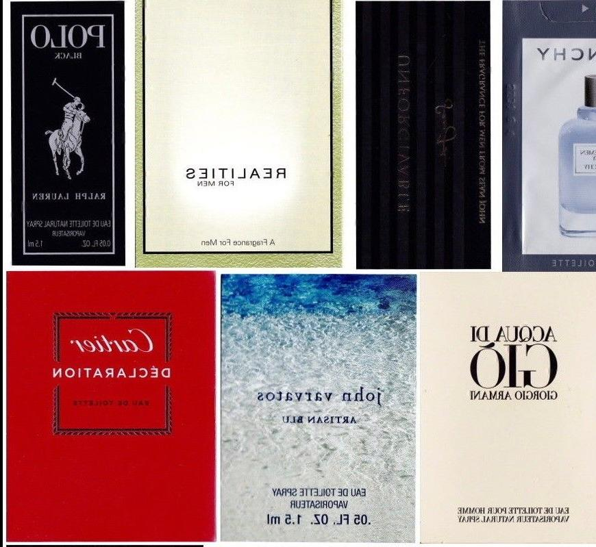 20 Mens Samples Armani Burberry Cartier & Polo