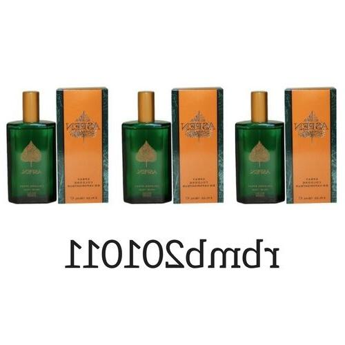 3 X Aspen By Coty Men 4.0 Oz / 118 mL Cologne Spray New In B