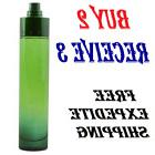 360 Green by Perry Ellis 3.4 oz EDT Cologne for Men Tester *