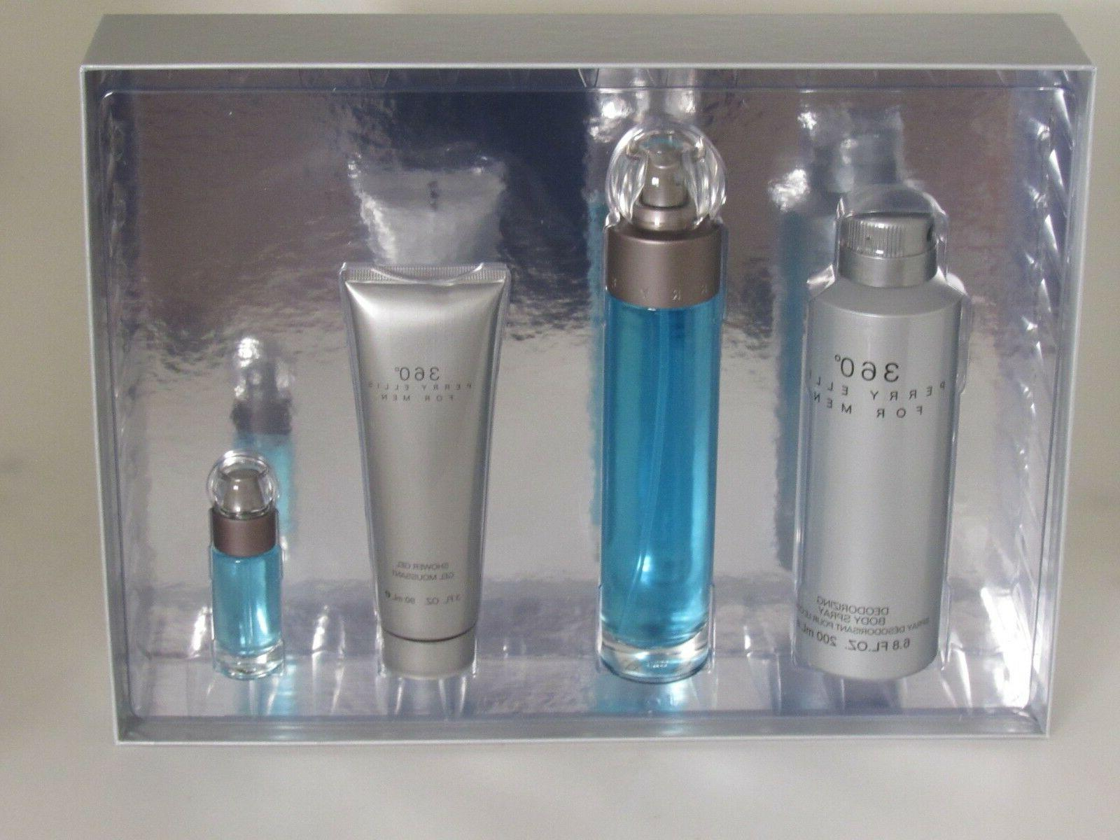 360 For Men Gift Set By Perry Ellis