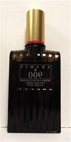 Aramis 900 Herbal For Men Herbal Eau De Cologne Spray 3.4 oz