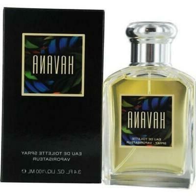 ARAMIS HAVANA for MEN Cologne Spray 3.4 oz edt 3.3 NEW in BO