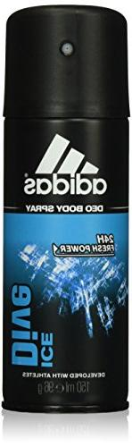 Adidas Ice Dive 24 Hours Fresh Boost Cool Tech Deodorant Bod