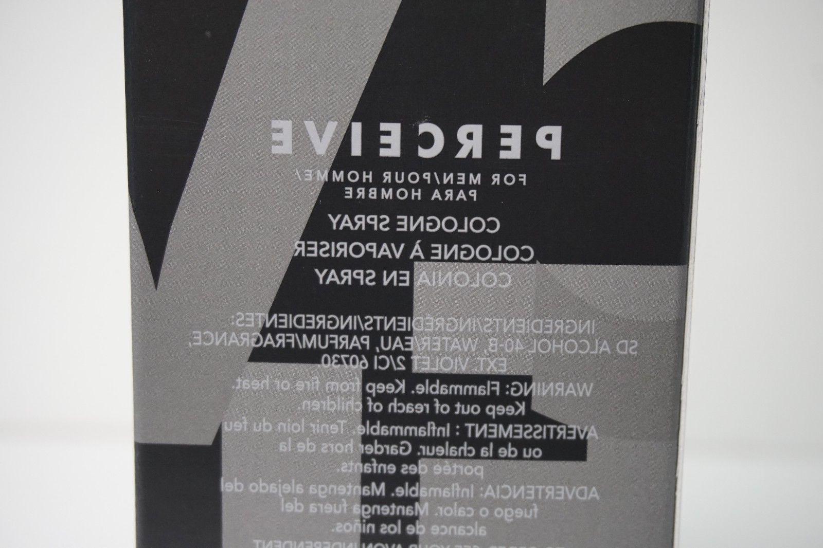 Avon for Cologne Spray Size 3.4 oz