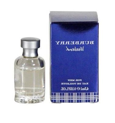 Burberry WEEKEND Mens 4.5 ML EDT MINI NEW Mens Cologne NIB