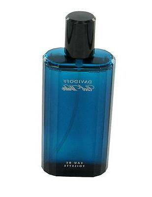 COOL WATER  by Davidoff 4.2 oz EDT eau de toilette Men Spray