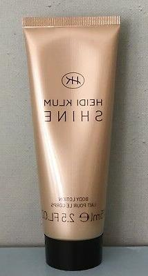 Coty Heidi Klum Shine Body Lotion  2.5 oz / 75 ml