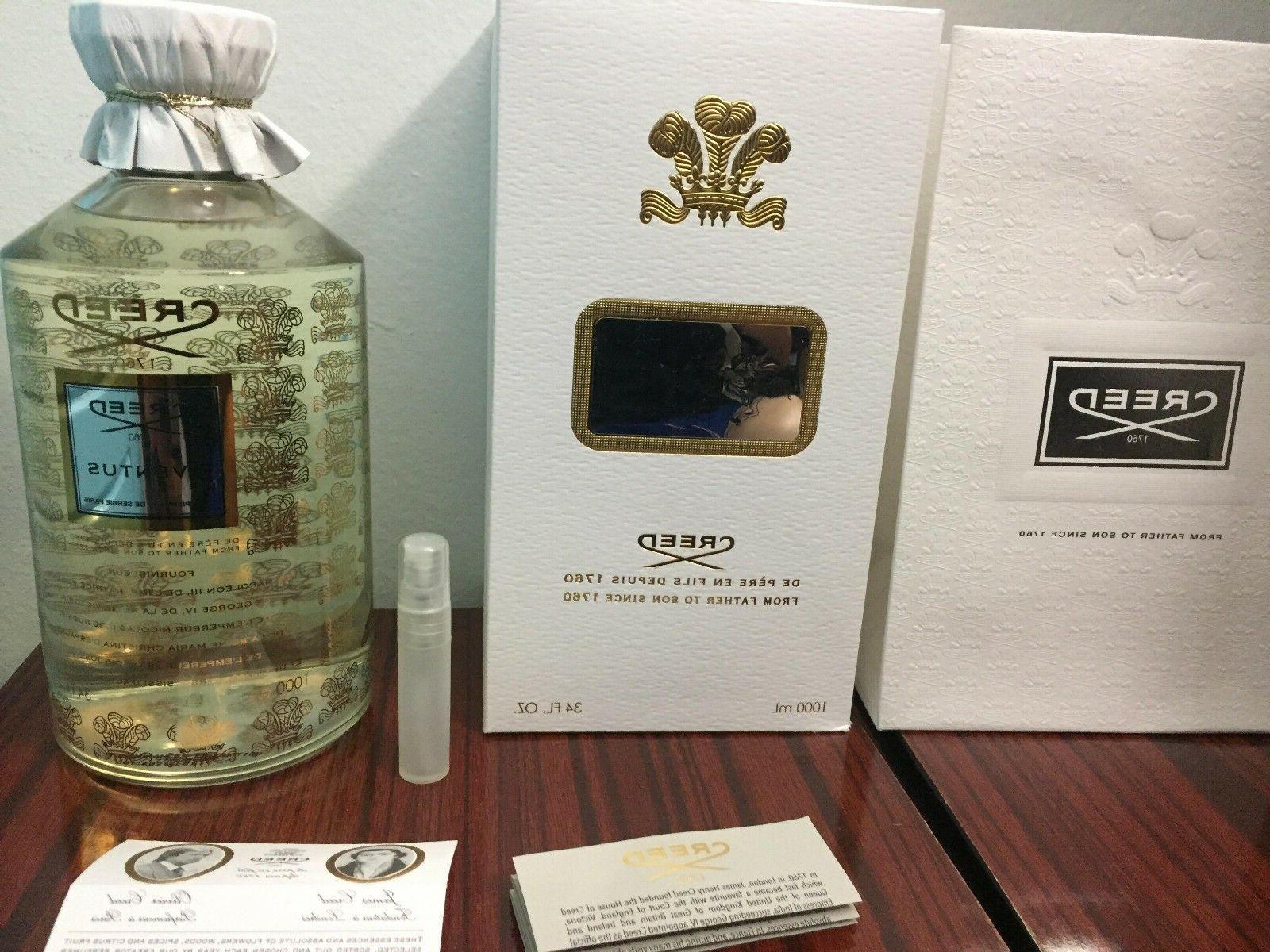 Creed Aventus men cologne 16L01 100% Authentic 5ml sample