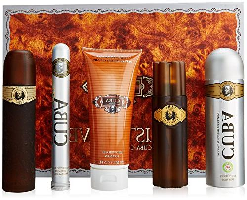 Cuba Gold for Men Gift Set