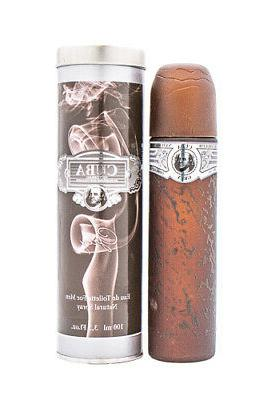 Cuba Grey by Fragluxe Cologne for Men 3.3 / 3.4 oz Brand New