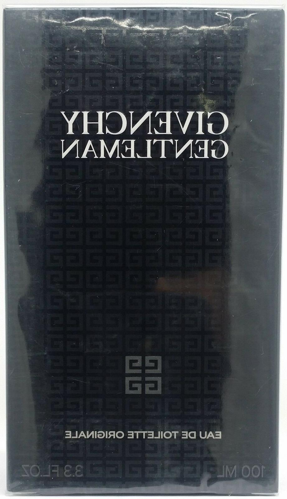GENTLEMAN by Givenchy Cologne 3.4 oz /  3.3 oz New in Box