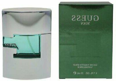 GUESS MAN 1.7 oz EDT eau de toilette Men's Spray Cologne 50