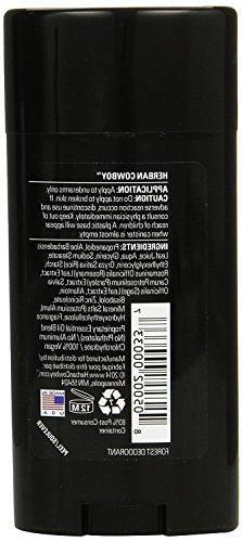 Herban Cowboy: Natural Grooming Deodorant, Forest 2.8 oz
