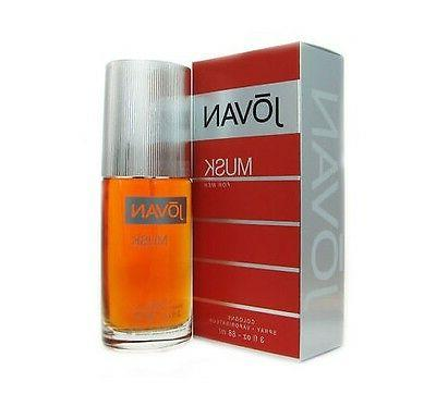 Jovan Musk By Coty Men 3.0 3 oz 88 ml *Cologne* Spray New in