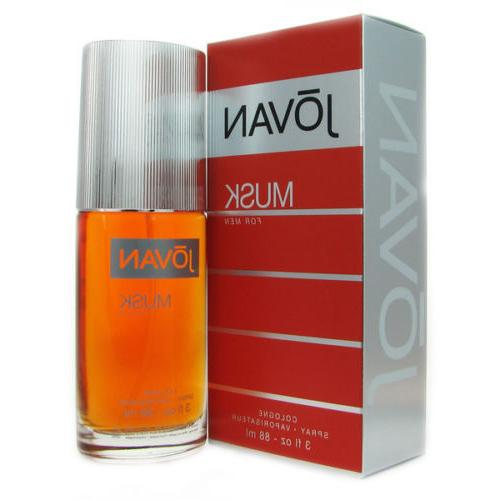 Jovan Musk by Coty Pour Homme 3.0 oz / 88 ml Cologne For Men
