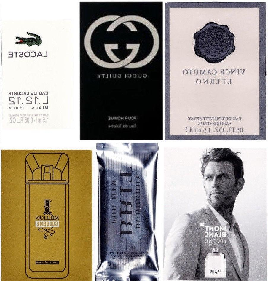 Lot 12 Cologne Samples Versace Lacoste Paco Rabanne CK