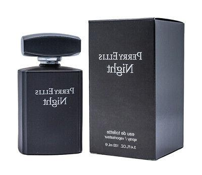 Perry Ellis Night by Perry Ellis EDT Cologne for Men 3.4 oz