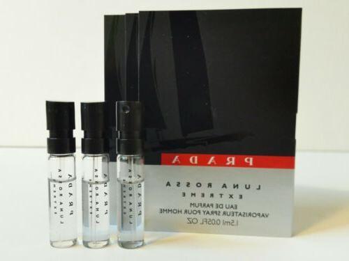 Prada Luna Rossa Extreme Eau De Parfum 1.5 ml Mens Cologne S