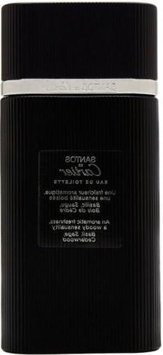 SANTOS de CARTIER Cologne for Men 3.3 oz / 3.4 oz Spray edt