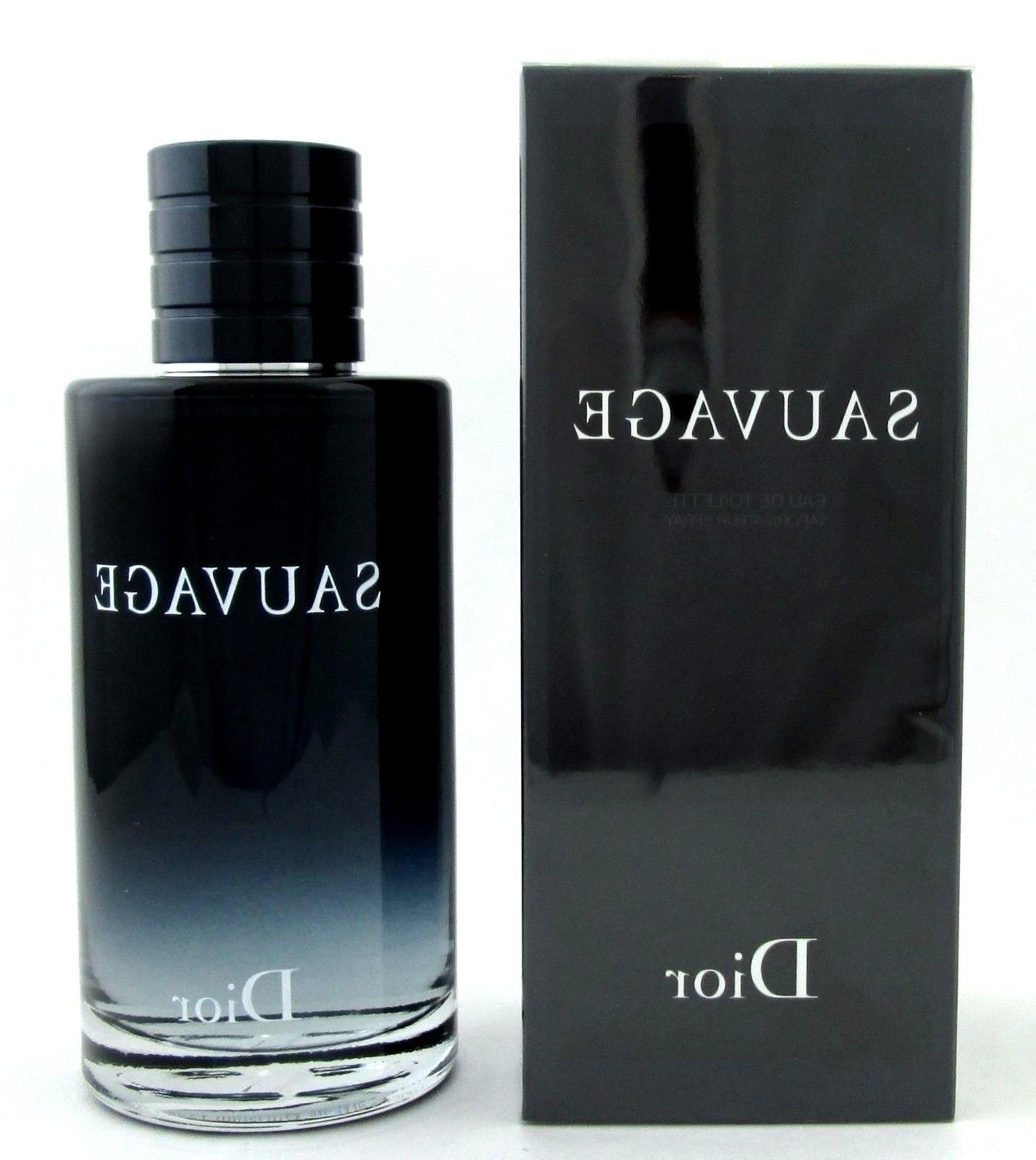 Sauvage Cologne by Christian Dior 6.8.oz.EDT Spray for Men.
