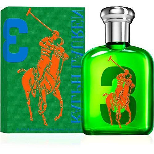 The Big Pony Collection 3 by Ralph Lauren for Men Eau De Toi